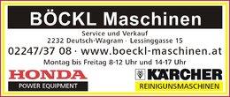 Böckl Maschinen - 2232 Deutsch-Wagram